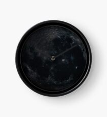 New Moon Time Clock