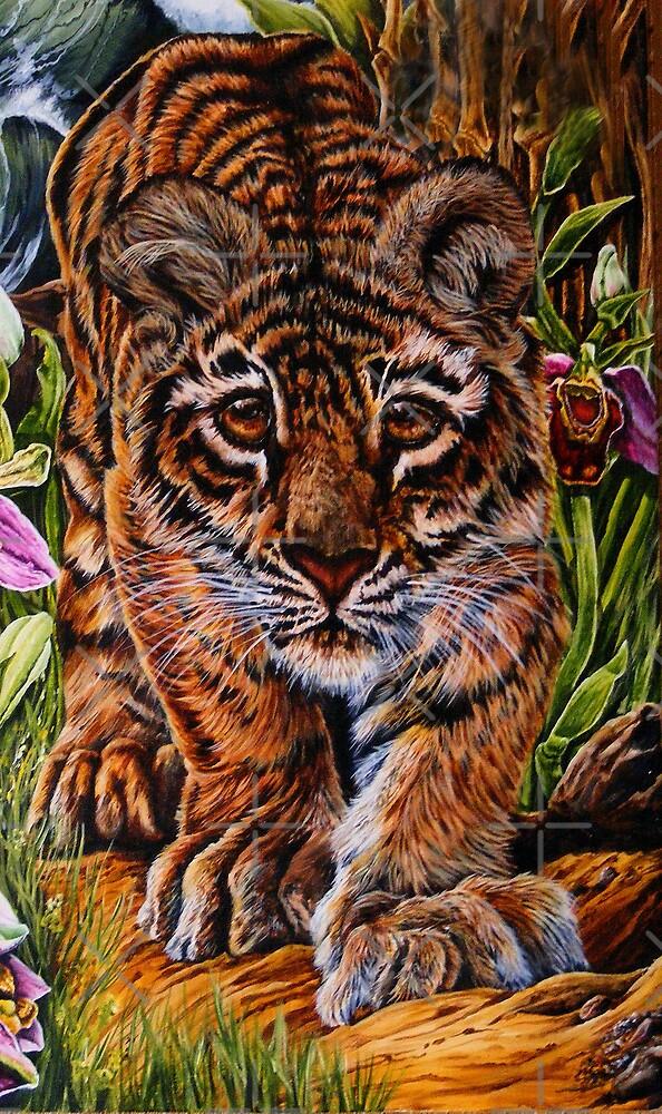 tiger by dnlddean