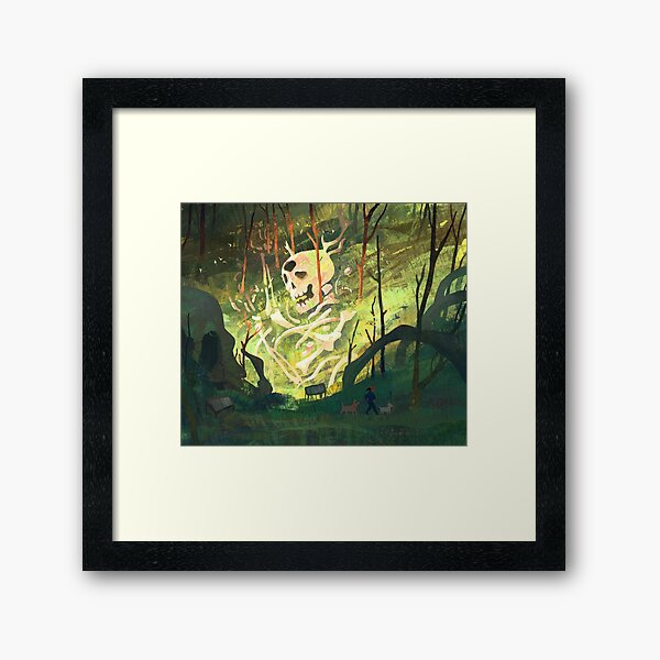 The Ancients Framed Art Print