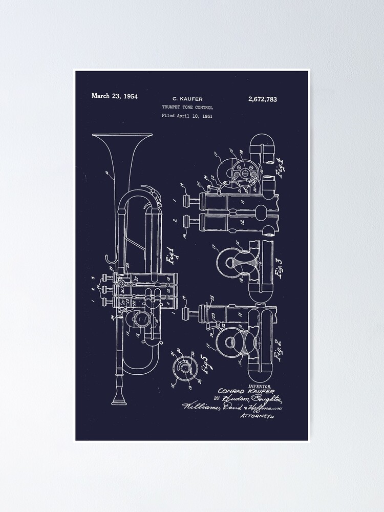 Alternate view of Trumpet Poster