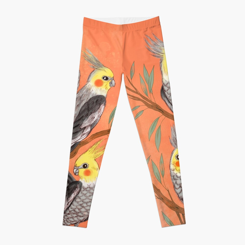 Cockatiel Fun Leggings