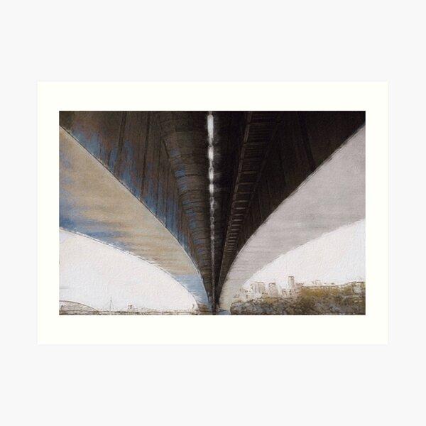 Under the Overpass Art Print