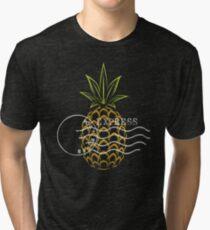 Piña rápida Camiseta de tejido mixto
