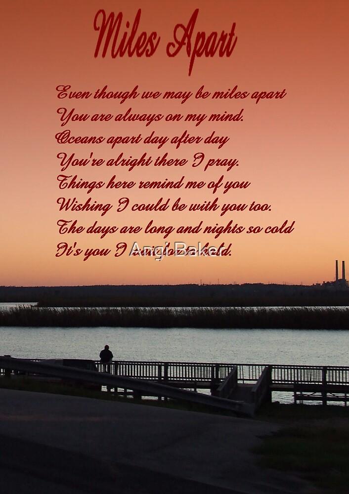 """Miles Apart"" by Angi Baker"