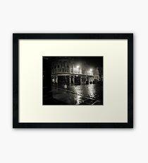 Blakes Square early dawn Framed Print
