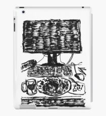 workplace ink drawing iPad Case/Skin