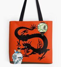 Tintin the blue lotus Tote Bag