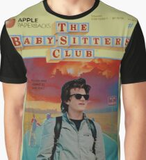 STRANGER THINGS  / BABY SITTERS CLUB MASH UP Graphic T-Shirt
