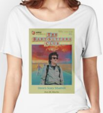 STRANGER THINGS  / BABY SITTERS CLUB MASH UP Women's Relaxed Fit T-Shirt