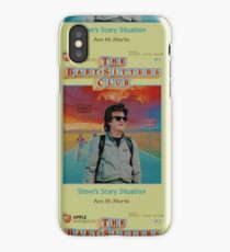 STRANGER THINGS  / BABY SITTERS CLUB MASH UP iPhone Case