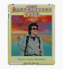 STRANGER THINGS  / BABY SITTERS CLUB MASH UP iPad Case/Skin