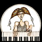 Piano practise by Jenny Wood