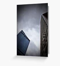 Corporate Giants - SYDNEY NSW AUSTRALIA Greeting Card