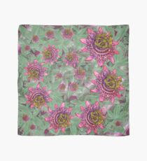 D1G1TAL-M00DZ ~ FLORAL ~ Passiflora by tasmanianartist for Karl May Friends Scarf