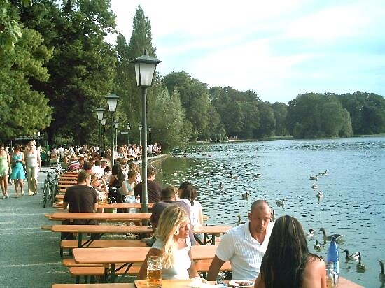 english garden in Munich, Germany by chord0