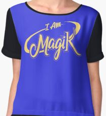 I AM MagiK Women's Chiffon Top
