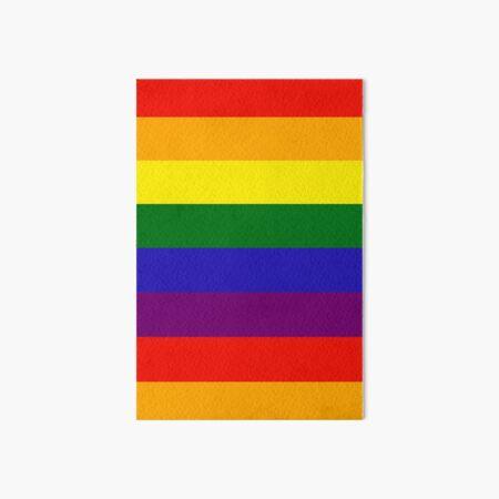 Everyday Rainbow Art Board Print