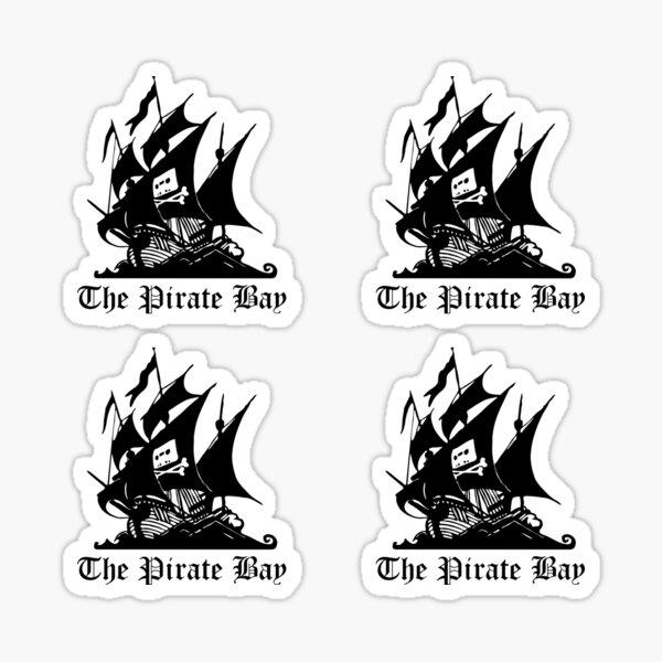 The Pirate Bay - Stickers x4 Sticker