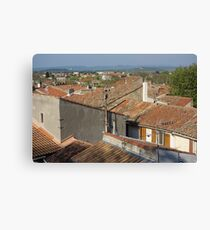 Arles Rooftops Canvas Print