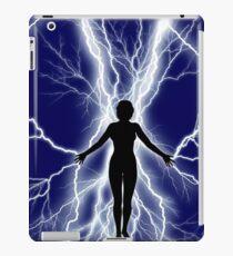 Female Supernatural Lightning Sparks iPad Case/Skin