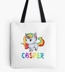 Casper Unicorn Sticker Tote Bag