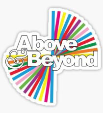 Above & Beyond Group Therapy Sticker