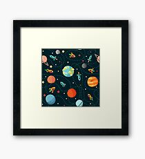 Space Adventure Framed Print