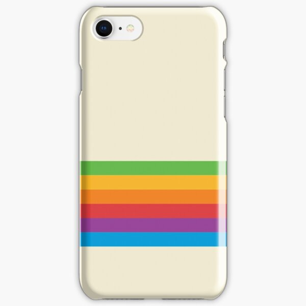 RETRO APPLE RAINBOW iPhone Snap Case