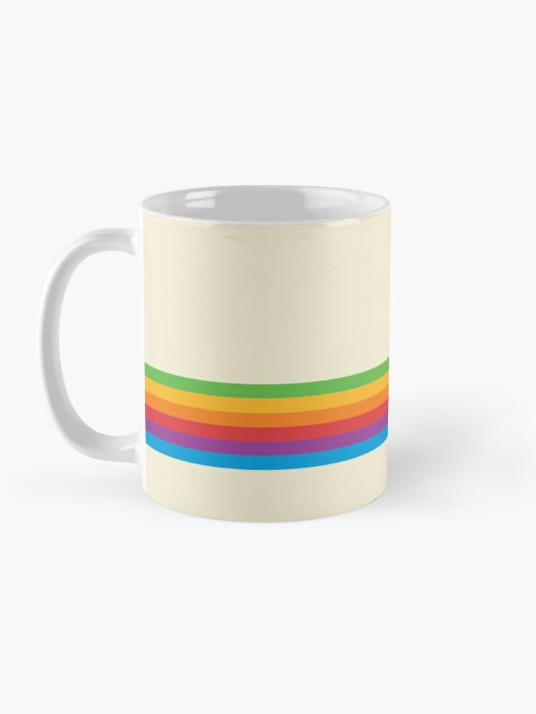 Alternate view of RETRO APPLE RAINBOW Mug