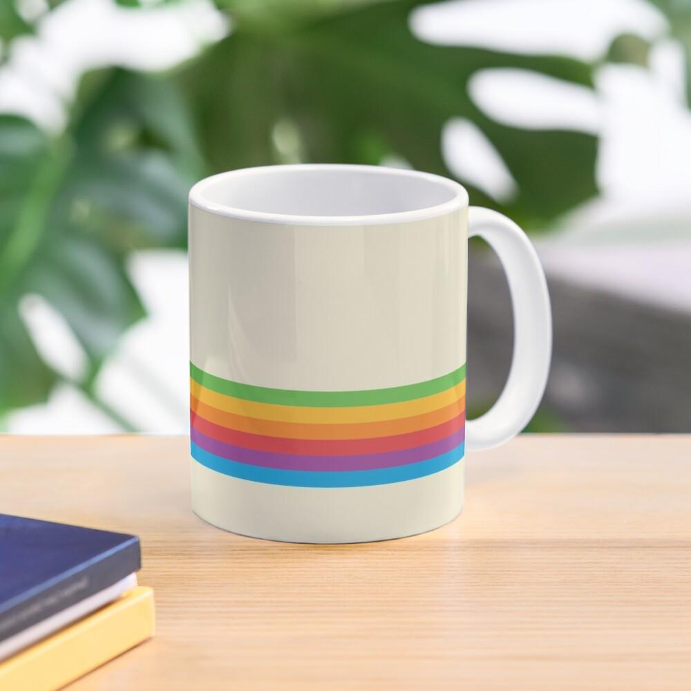 RETRO APPLE RAINBOW Mug