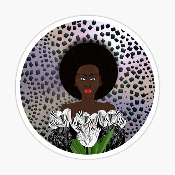 TULIP LADY. Sticker