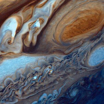 Jupiter's Clouds by kipstewart