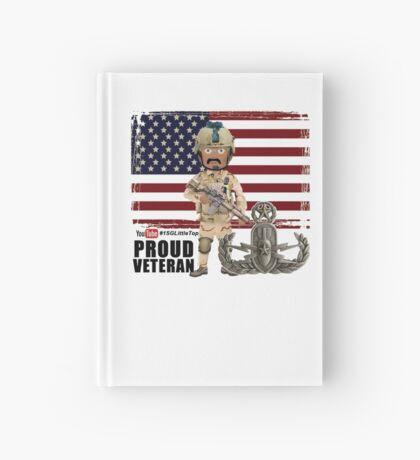 EOD Proud Veteran Hardcover Journal