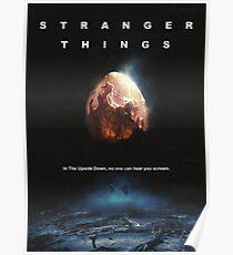 Stranger Alien Things Poster