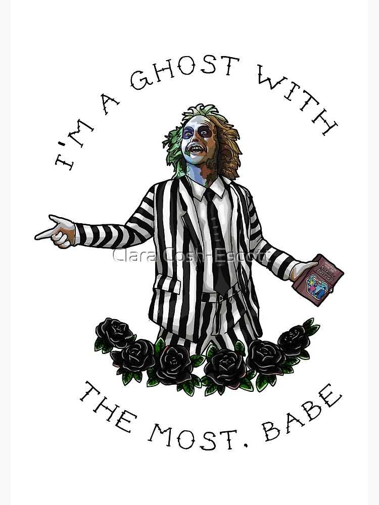 Beetlejuice by coshillustrates