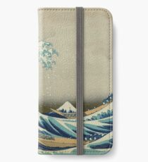 Best Price T-Shirts etc - Hokusai - the great wave off Kanagawa - 1823 iPhone Wallet/Case/Skin