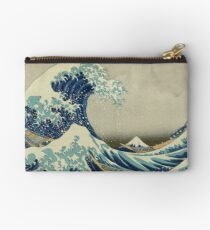 Best Price T-Shirts etc - Hokusai - the great wave off Kanagawa - 1823 Studio Pouch