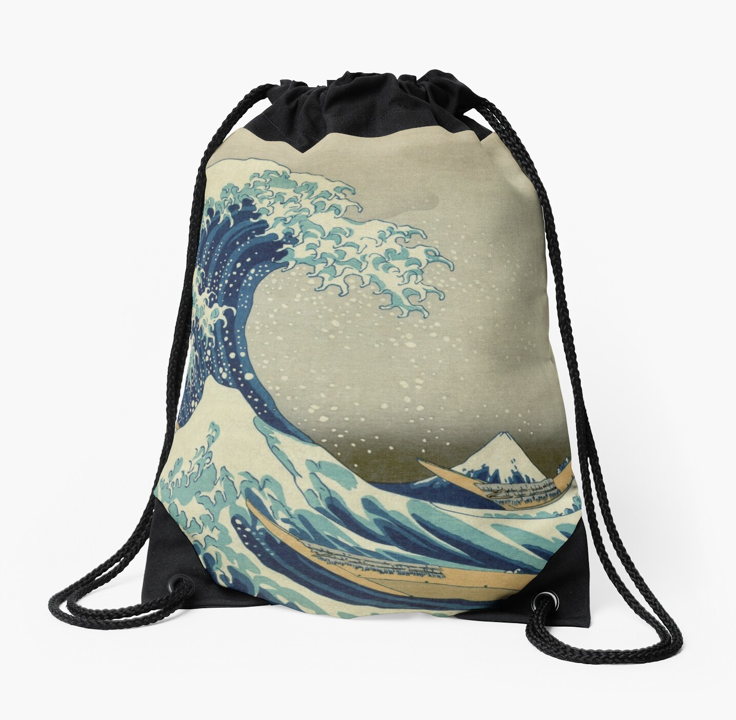 Best Price T-Shirts etc - Hokusai - the great wave off Kanagawa - 1823 by okeydokey