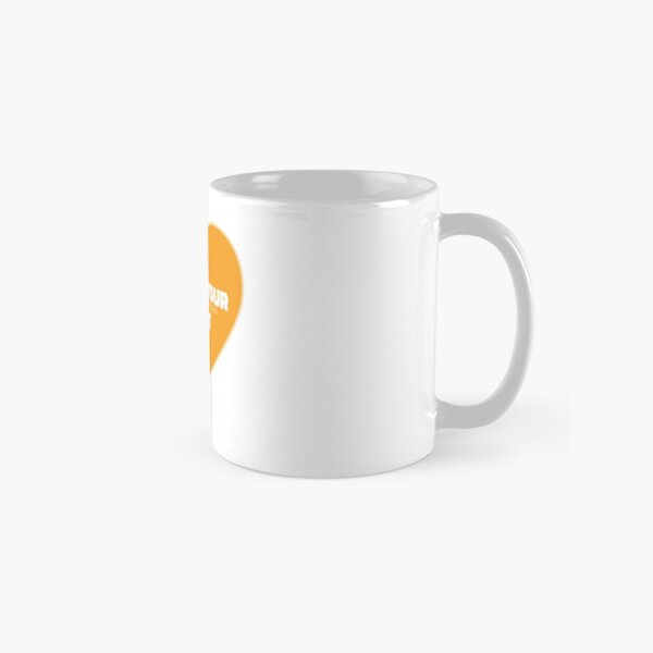 Follow Your Heart (Orange) Classic Mug