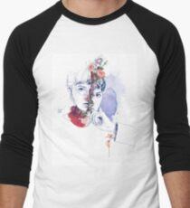 CELLULAR DIVISION by elena garnu Baseball ¾ Sleeve T-Shirt