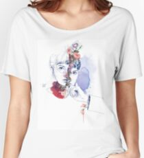 CELLULAR DIVISION by elena garnu Women's Relaxed Fit T-Shirt