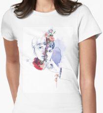 DIVISIÓN CELULAR by elena garnu Camiseta entallada