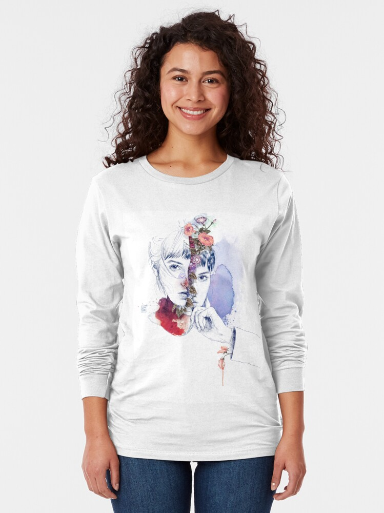 Alternate view of CELLULAR DIVISION by elena garnu Long Sleeve T-Shirt
