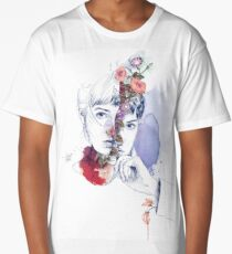 CELLULAR DIVISION by elena garnu Long T-Shirt