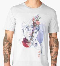 CELLULAR DIVISION by elena garnu Men's Premium T-Shirt