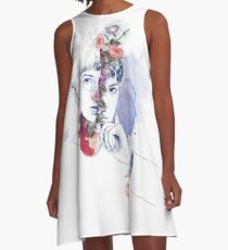 CELLULAR DIVISION by elena garnu A-Line Dress