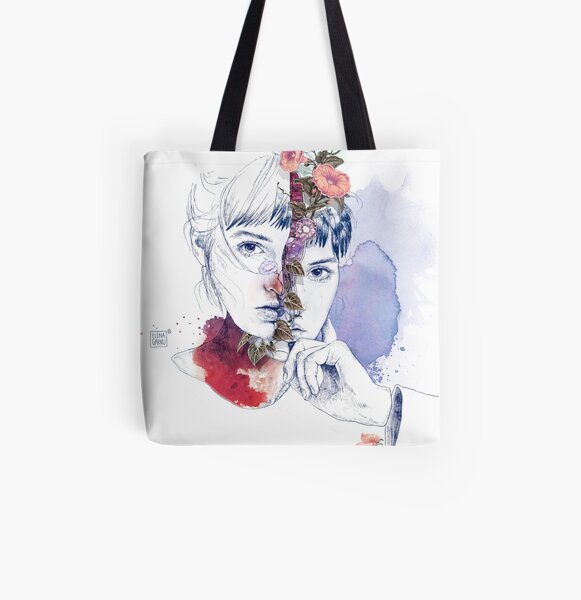 CELLULAR DIVISION by elena garnu All Over Print Tote Bag