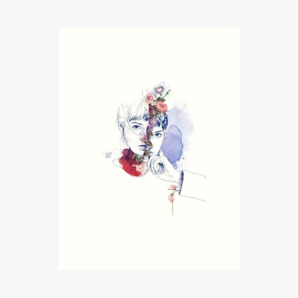CELLULAR DIVISION by elena garnu Art Print
