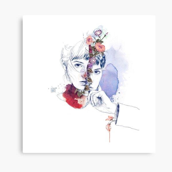 CELLULAR DIVISION by elena garnu Canvas Print