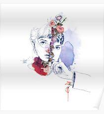 CELLULAR DIVISION by elena garnu Poster